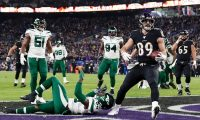 Jets fall to Ravens, 42-21